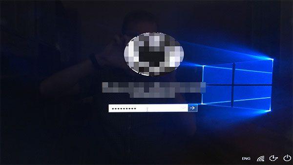 Авторизация пользователя в системе Windows 10