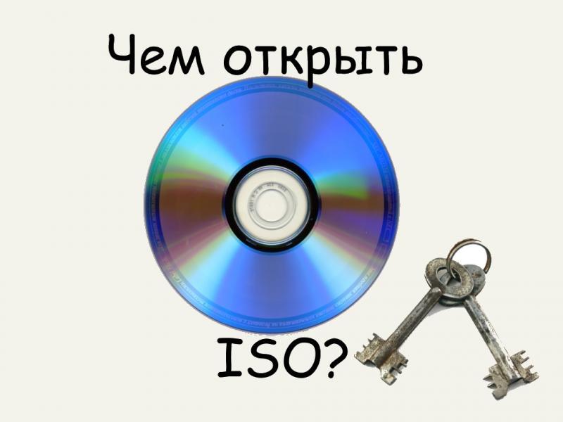 Что такое ISO файлы и как их открыть в Windows 10