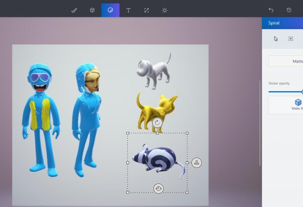 Новый Paint 3D