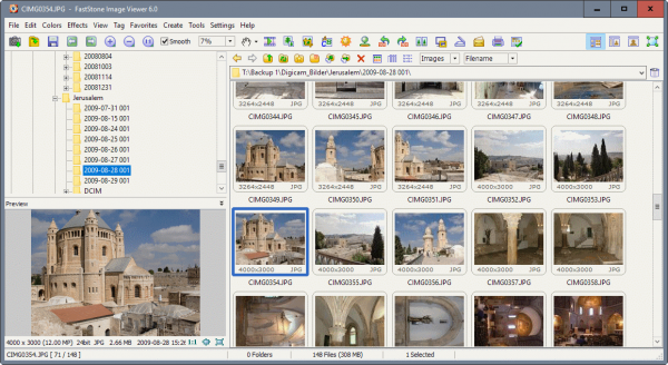 Приложение FastStone Image Viewer