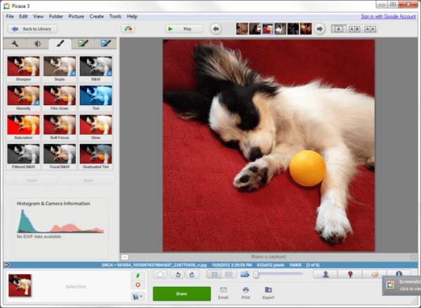 Приложение Picasa