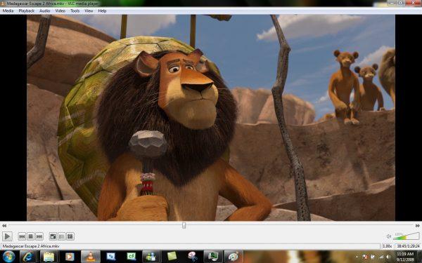 Просмотр видео в VLC Media Player