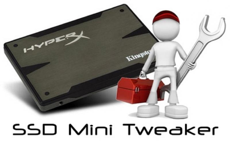 SSD Mini Tweaker для Windows 10