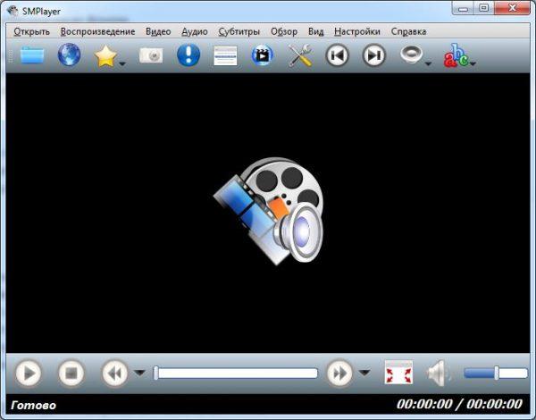 Внешний вид SMPlayer