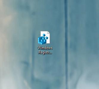 Иконка файла на «Рабочем столе»