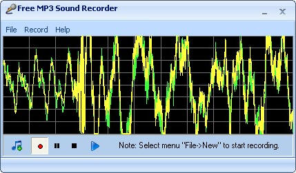 Утилита Free MP3 Sound Recorder