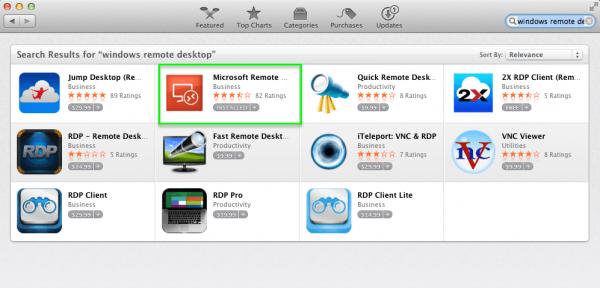 Загрузка Microsoft Remote Desktop для MacOS