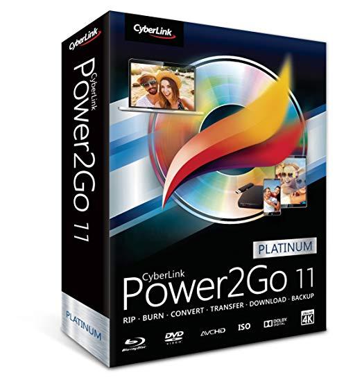 Программа CyberLink Power2Go