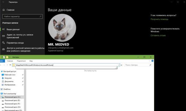 Аватар без предыдущих версий