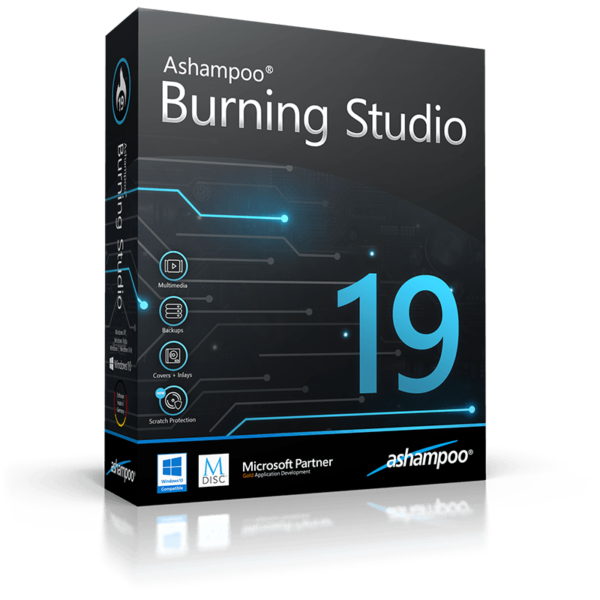 Программа Ashampoo Burning Studio