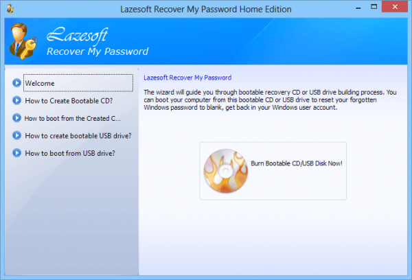 Recover My Password Home Edition