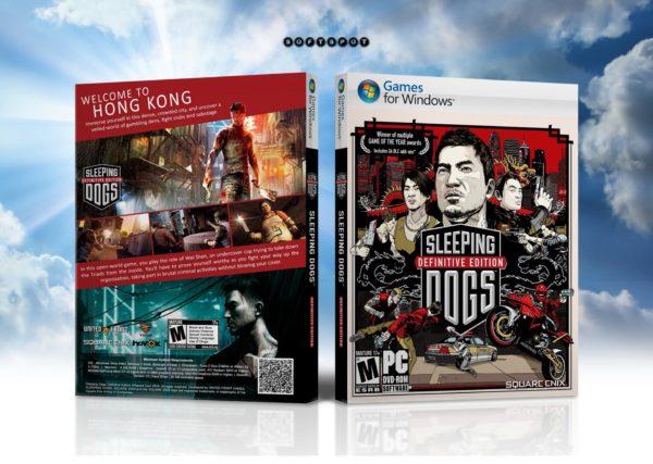 Обложка обновлённого издания Sleeping Dogs: Definitive Edition