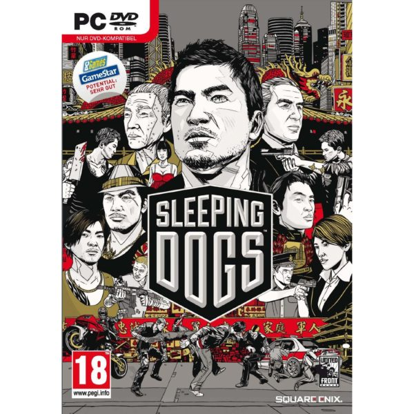 Обложка стандартного издания игры Sleeping Dogs