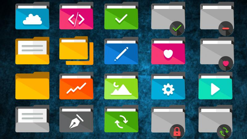 Набор иконок для Windows 10