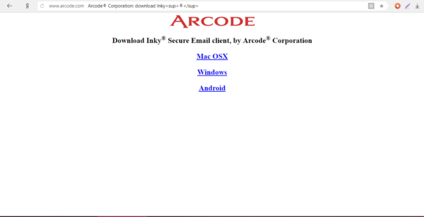 Сайт разработчика Arcode