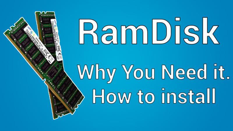 Создание RAM-диска: используем «лишнюю» оперативную память с пользой