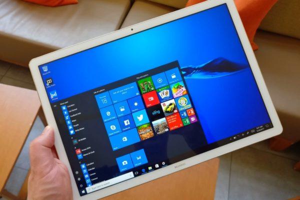 Планшет на Windows 10