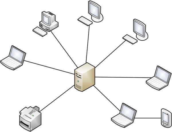 Корпоративная локальная сеть