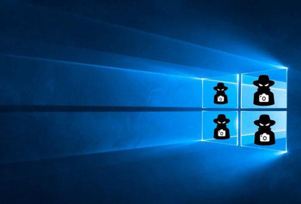 Шпионаж в Windows 10