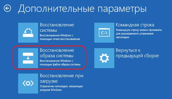 Как восстановить Windows по образу