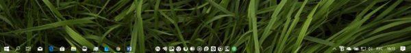 Прозрачная «Панель задач» в Windows 10